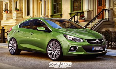 Opel Volt by New Opel Era Rendered Based On 2016 Chevy Volt
