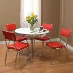 Kitchen Furniture Sets Shop Tms Furniture Retro 5 Dining Set With Dining Table At Lowes