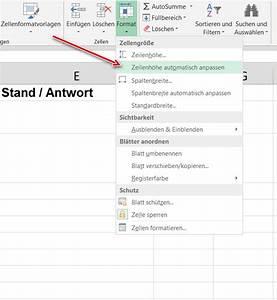 Word Datum Automatisch Berechnen : excel zeilenh he automatisch anpassen ~ Themetempest.com Abrechnung