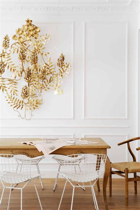 stylish bertoia chair dining room
