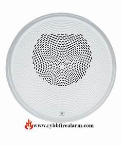 System Sensor Spcwl Ceiling Speaker  White