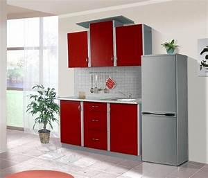 Küche In Rot : k che sky 150cm k chenzeile k chenblock variabel stellbar rot silber k chen ~ Frokenaadalensverden.com Haus und Dekorationen