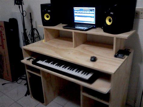 diy recording studio desk gearslutzcom studio desk