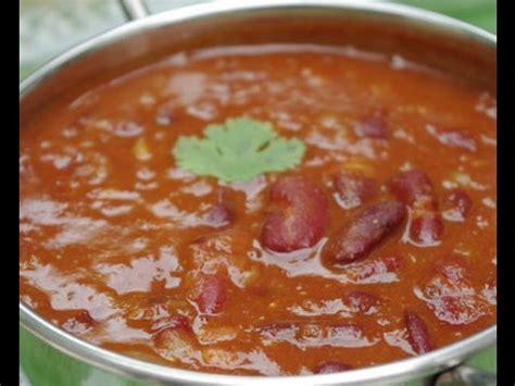 cuisiner les haricots rouges secs recette indienne de haricots rajma