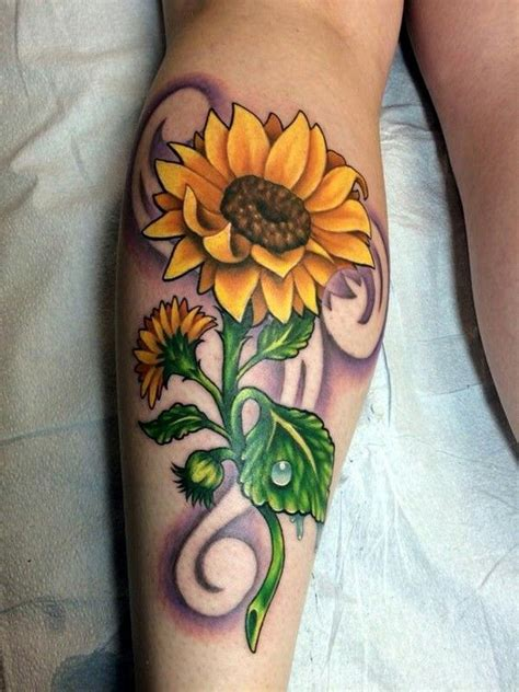 sunflower tattoo sunflower tattoos tattoos sunflower