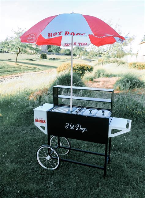hot dog vending cart rental