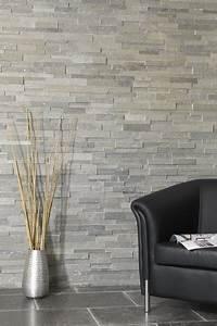 Parement Bois Mural : parement pierre naturelle gris clair alta banc c indoor ~ Premium-room.com Idées de Décoration