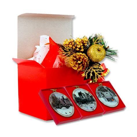 winter in central park new york christmas ornaments gift
