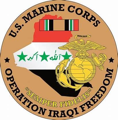 Freedom Iraqi Operation Marine Corps Decal Priorservice