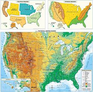 Usa Physical Map  Us Physical Map  America Physical Map