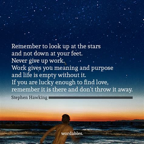Look At Stars Quotes