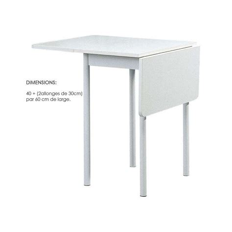 table de cuisine pliante table pliante tkp68 80 x 60 cm 4 pieds tables
