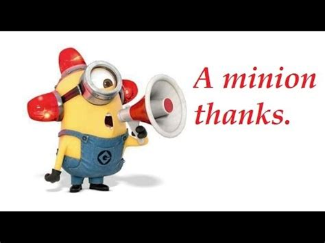 A Yearend Review, A Thank You And Some Minion Humour Too Youtube