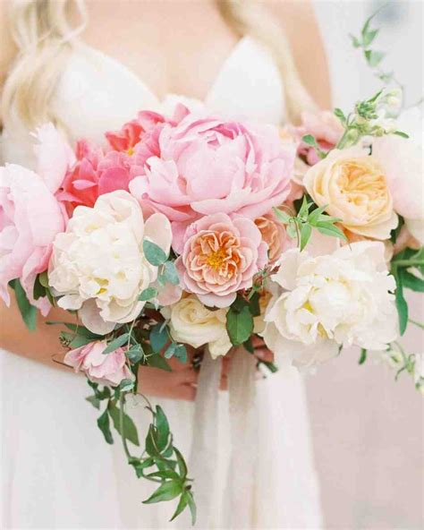 prettiest pink wedding bouquets martha stewart weddings