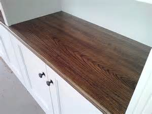 kitchen island cupboards ash wood stained with nick and nelly