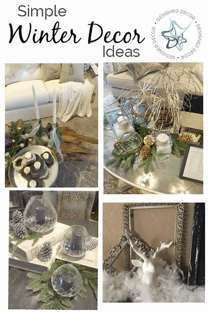 Winter Simple Decorating Decor Easy Natural Items