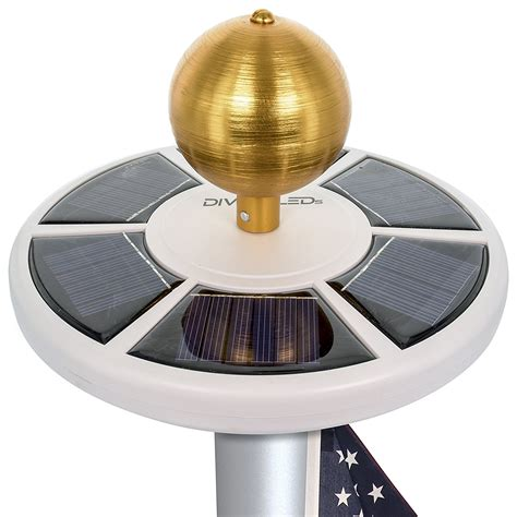 flag pole light best solar flagpole lights ledwatcher