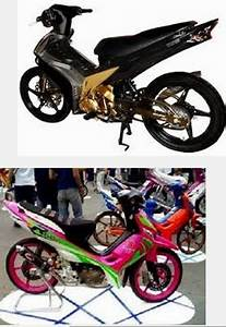 Modifikasi Motor Honda Revo Fit Absolute 110 100cc Road