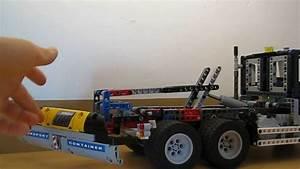 Lego Technic Camion : moc lego technic camion benne partie 1 youtube ~ Nature-et-papiers.com Idées de Décoration