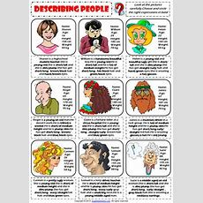 Describing People Physical Appearance Worksheet By Classmateterrero Issuu