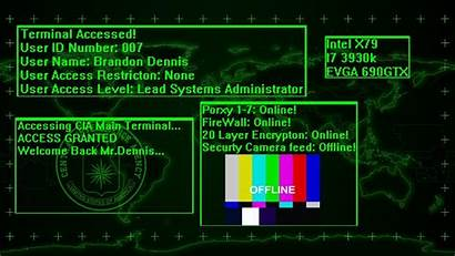 Wallpapers Access Restricted Desktop Cia