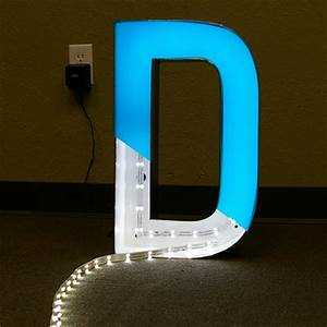 wholesale led channel letters signs block 3 d channel With channel letter led lights
