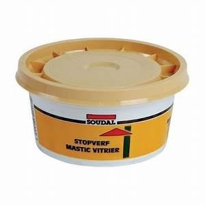 Mastic De Vitrier : mastic vitrier soudal d signation bo te de 1 kg 396621 ~ Melissatoandfro.com Idées de Décoration