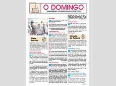 O Domingo Semanário LitúrgicoCatequético 9772358570009