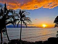 Sunset Lahaina Maui Hawaii