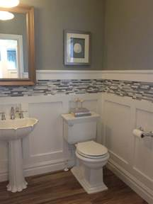 bathroom ideas with wainscoting 17 best ideas about small bathroom decorating on bathroom storage diy diy bathroom