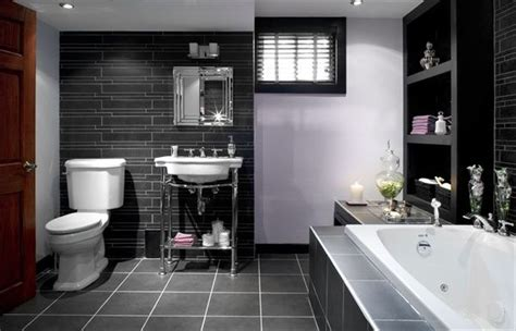 black and silver bathroom ideas bathroom cool bathroom designs in captivating gray white and black tiles as backdrop of grey