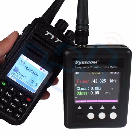 Frequency Meter Surecom Sfplus Counter Mhz