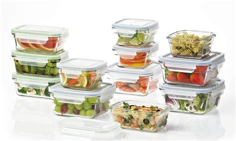 Glasslock Food Storage Container Sets   Groupon