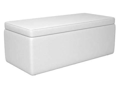 cheap banc coffre en pu coloris blanc vente de chaise de