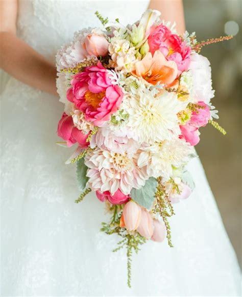 modern cascade long bridal bouquets wedding philippines