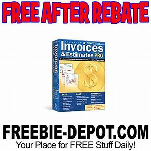 free after rebate freebie depot With invoices and estimates pro 2 0