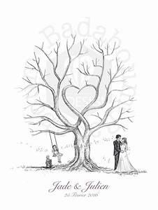 Arbre A Empreintes : arbre empreintes mariage ou anniversaire 60x80cm 200 ~ Farleysfitness.com Idées de Décoration