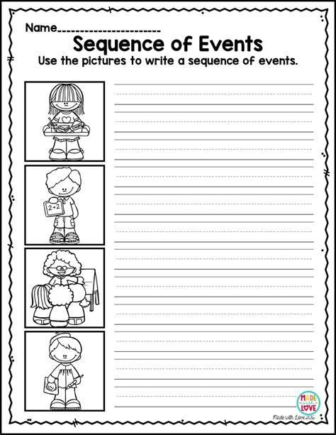 narrative writing worksheets for year 2 worksheet exle