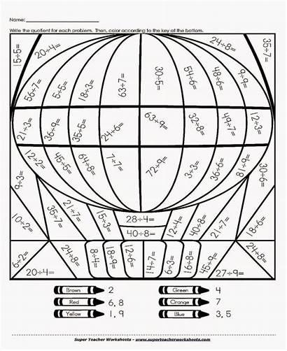 7th Math Grade Worksheets Multiplication Printable Coloring