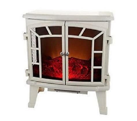 duraflame large electric stove heater  screen front