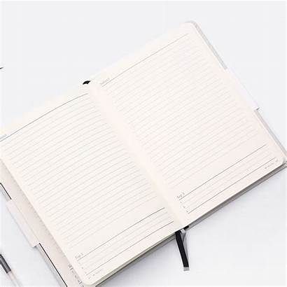 Notebook Journal A5 Bullet Simple Leather Pu