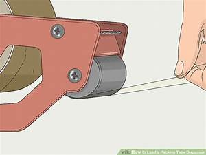 Easy Ways To Load A Packing Tape Dispenser  7 Steps