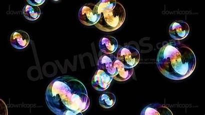 Bubbles Moving Soap Background Calm Motion Loop