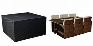 Housse Protection Salon De Jardin : housse pour salon rectangulaire 6 places ~ Premium-room.com Idées de Décoration