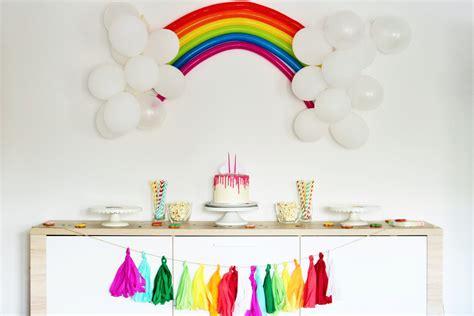 regenbogen party ideen partystories blog
