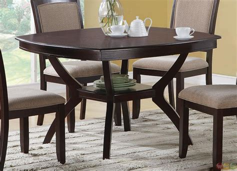 5 dining room sets cappuccino 5 casual dining room set