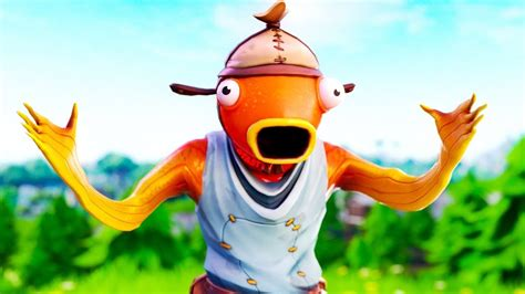 fish skin funny fortnite skit psycho fisch skin lmao