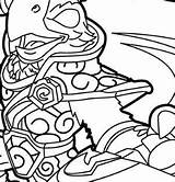 Skylanders Coloringpagesonly Ranger sketch template