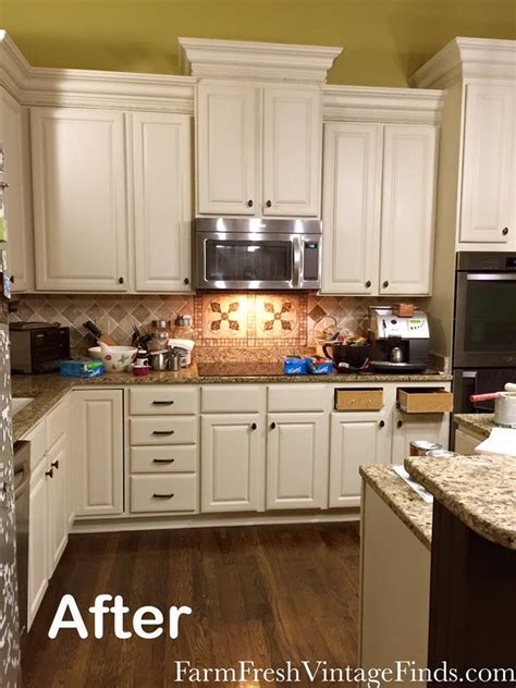 Kitchen Makeover in Linen Milk Paint   General Finishes