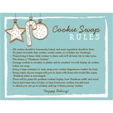 cookie exchange rules cmas cookie exchange on canes favors and cookie cutters